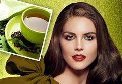 Уход за волосами с помощью чая